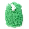 Seedbead 10/0 Hot Green Color Lined Strung Terra Colour